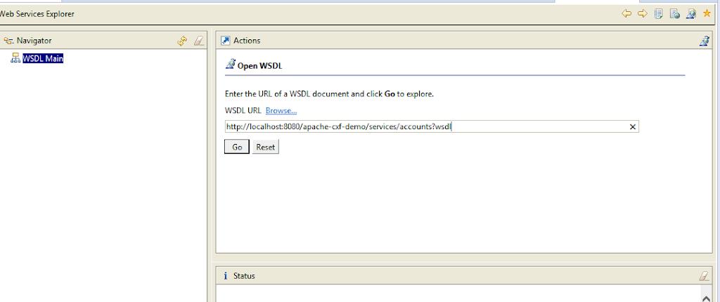 Apache CXF - Contract First Web Services - briansdevblog