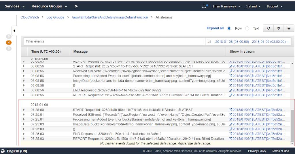 Building a Serverless App with AWS Lambda, S3, DynamoDB